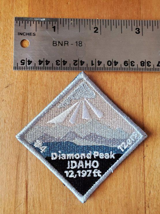 Diamond Peak with Ruler