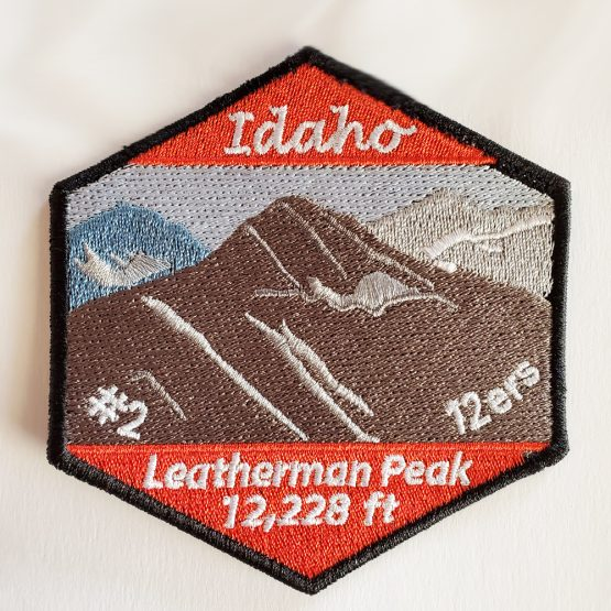 Leatherman Patch on White